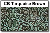 CB Turquoise Brown